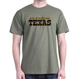 God Created Texas T-Shirt
