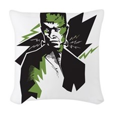 Frankenstein Woven Throw Pillow
