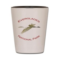 Everglades National Park...Great White  Shot Glass