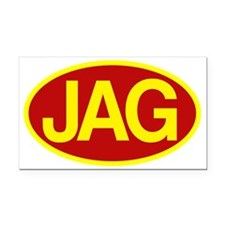 Jag 4 Rectangle Car Magnet