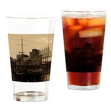 Daniel McAllister Tugboat Drinking Glass