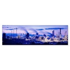 Petrochemical plant Bumper Sticker