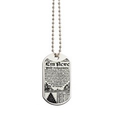 Petrus Apianus's Pascal's Triangle, 1527 Dog Tags