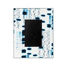 Computer artwork of DNA autoradiogra Picture Frame