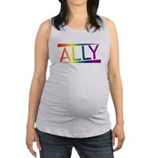 Straight Allies for Marriage Eq Maternity Tank Top