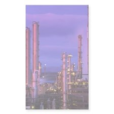 Petrochemical plant Decal