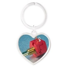 Potentiometer Heart Keychain