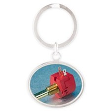 Potentiometer Oval Keychain