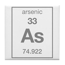 Arsenic Tile Coaster