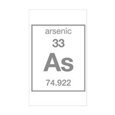 Arsenic Rectangle Decal