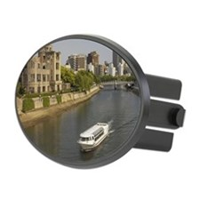 Historic A-Bomb Dome in Hiroshima Hitch Cover
