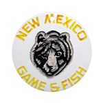 New Mexico Game Warden Ornament (Round)