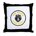 New Mexico Game Warden Throw Pillow