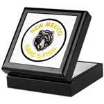 New Mexico Game Warden Keepsake Box