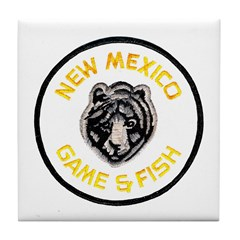 New Mexico Game Warden Tile Coaster