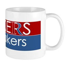 makers vs. takers Mug