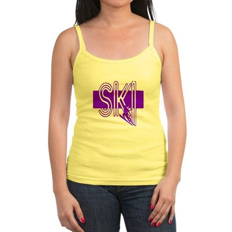 Ski Purple Jr. Spaghetti Tank