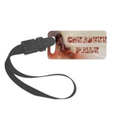 Cherokee Pride Luggage Tag