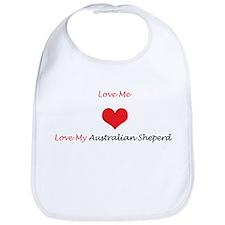 Love Me Love My Australian Sh Bib