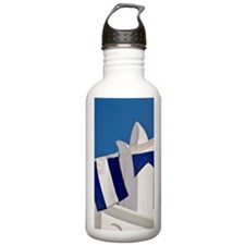 'Church with pennants, Water Bottle