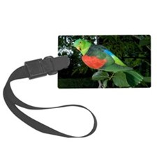 Red-winged parrot Luggage Tag