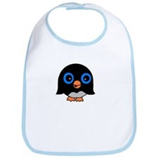 Plump Penguin Bib