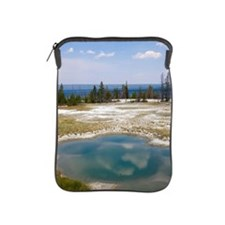 USA, Wyoming, West Thumb Geyser Basin, iPad Sleeve