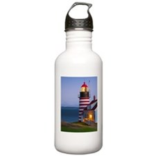 West Quoddy Lighthouse Water Bottle