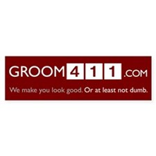 Groom411 Bumper Bumper Sticker