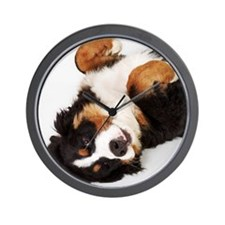 Bernese Mountain Dog Berner Sennenhund  Wall Clock