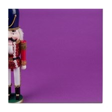Holiday nutcracker Tile Coaster
