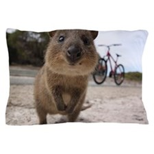 Rottnest Island quokka Pillow Case