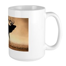Bull elk,Wyoming,USA Mug