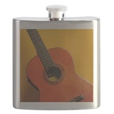 An acoustic guitar Flask