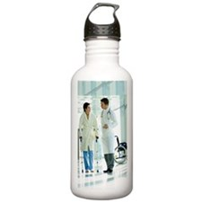 Male doctor assisting  Water Bottle