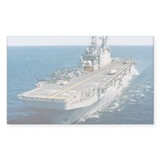 Amphibious assault ship USS Sa Decal