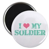I ♥ my Soldier Magnet