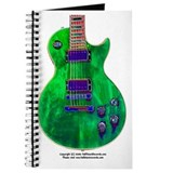 """Foil Green"" Guitar Journal"