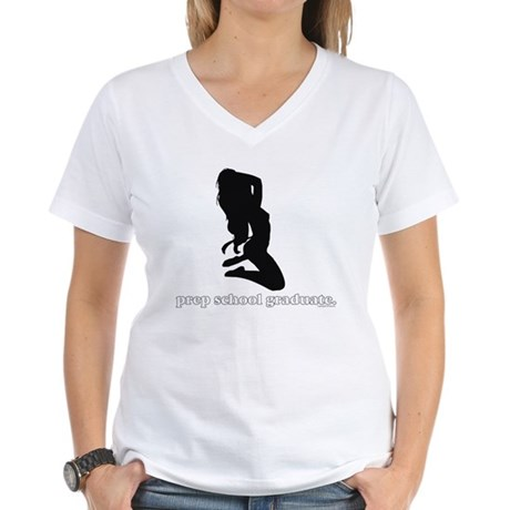 Prep School Women's V-Neck T-Shirt