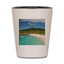 Knip Curacao Shower Curtain Shot Glass
