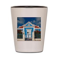 Curacao 59 Shower Curtain Shot Glass