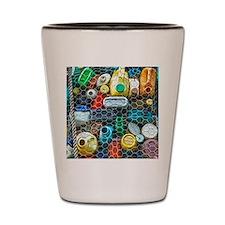 Curacao Recycling Art Shot Glass