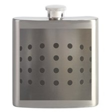 Metallic bin with holes Flask