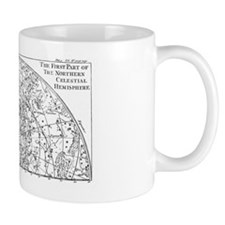Star chart of Northern Celestial Hemisp Mug