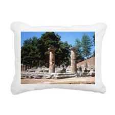 Olympia, Greece, Temple  Rectangular Canvas Pillow