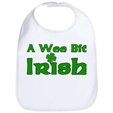 Wee Bit Irish Bib