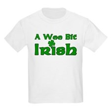Wee Bit Irish Kids T-Shirt