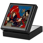 Bunraku/Kabuki Keepsake Box