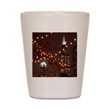 USA, Chicago, Sears Tower viewed from G Shot Glass