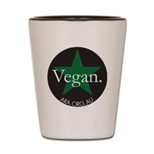 Vegan star Shot Glass